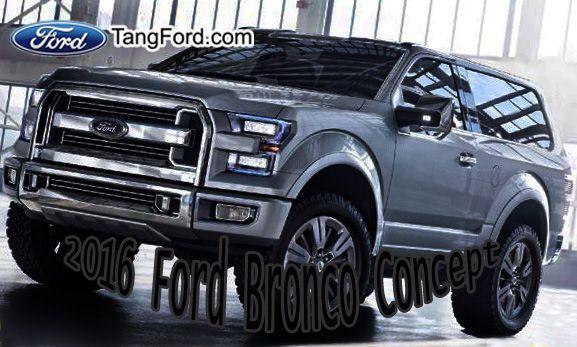 2016 Ford Bronco SVT Concept Reveal!