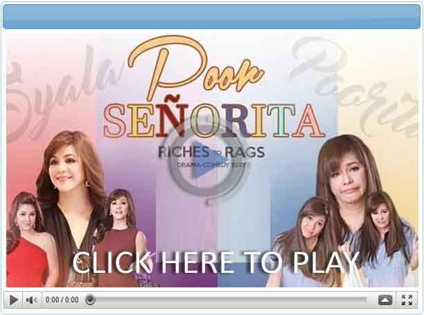 Poor Señorita - Pinoy Show Biz  Your Online Pinoy Showbiz Portal