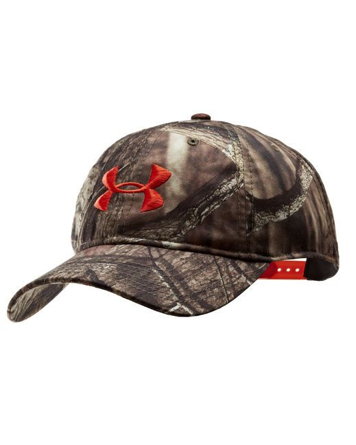 Under Armour Men's Camo Cap http://www.countryoutfitter.com/products/47871-mens-camo-cap