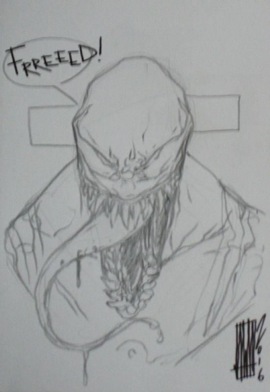 Venom by Alessandro Vitti Comic Art