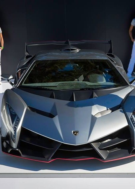 Lamborghini Veneno -- Think YOUR car insurance is crazy? Just think about what it would cost to cover this!