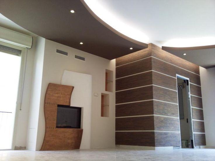 Il progetto di decorazione d'interni ha visto la realizzazione di un ...