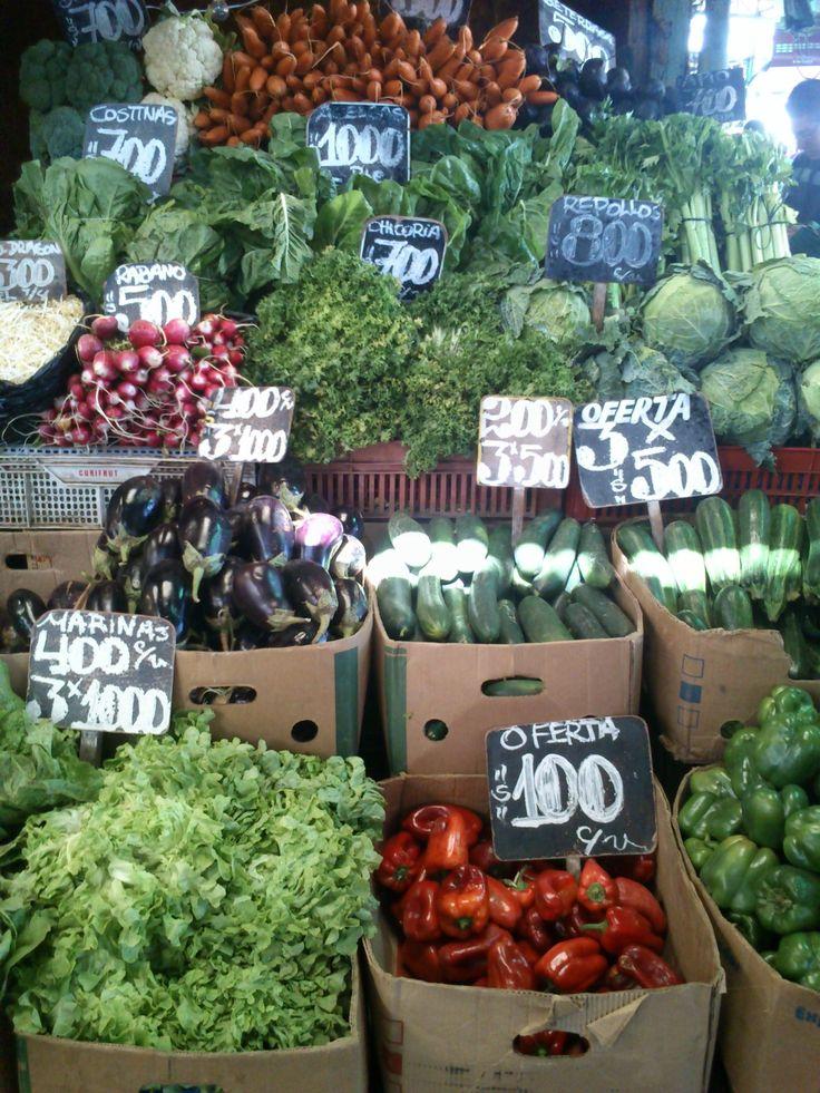 Mercado Central,santiago, Chile