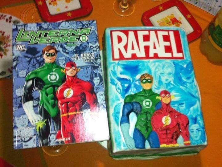 Torta comics. Marvel o Rafael?