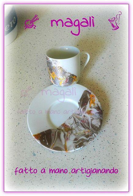 tazze marmorizzate - sinide magali