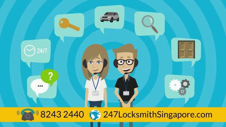 24 Hour Locksmith Singapore - Call +65-8243 2440