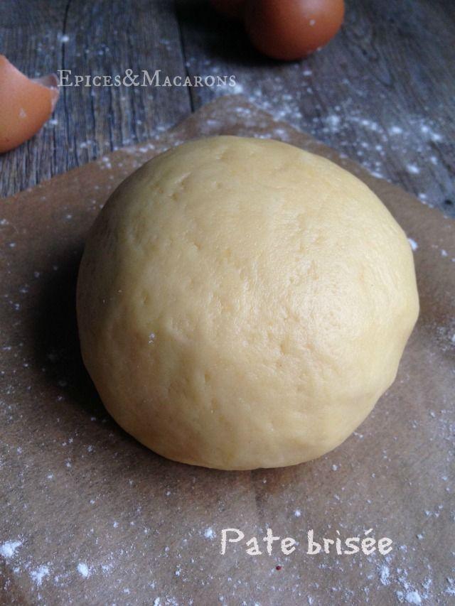 250g farine + 125g beurre pommade + 1 œuf + 30g eau + 1/2 c.à.c. sel