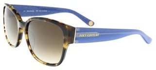 Juicy Couture Juicy 573/s 0esp Camel Tortoise Rectangle Sunglasses.