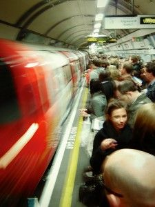 London Underground / The Tube. Great invention,only thing is,you have to share it with other people, a lot of which smell really bad. Oi you lot, WASH.