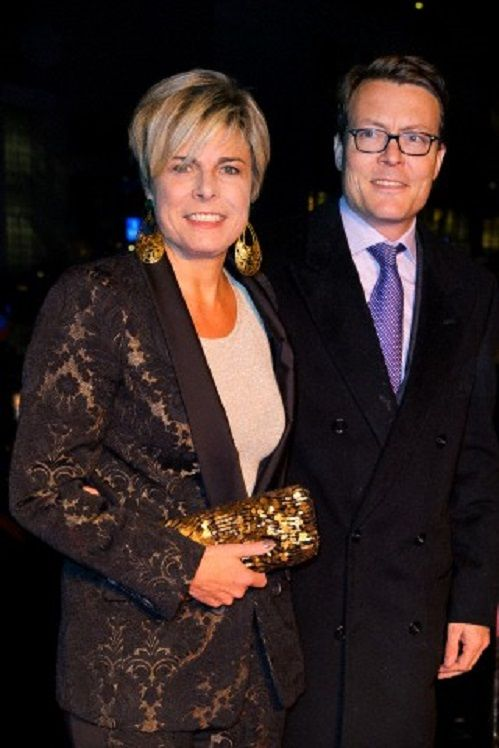 Dutch Prince Constantijn and Princess Laurentien attend the opening of the 14th edition of the Holland Dance Festival at the Lucent Danstheater in The Hague, The Netherlands, 25 Jan 2014.
