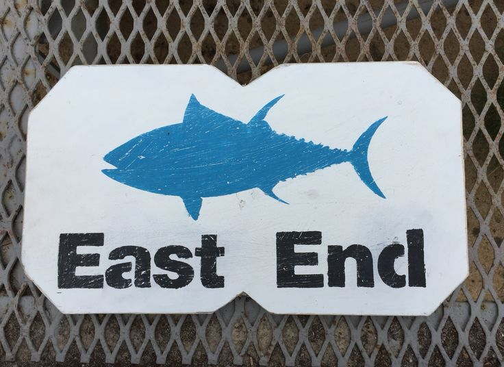 East End Long Island Tuna sign on reclaimed wood - 104 Best Images About North Fork Roots Wood Signs On Pinterest