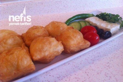 Kahvaltıya Yumurtalı Yufka Kızartması - Yufkalı Çakma Pişi :)) Tarifi
