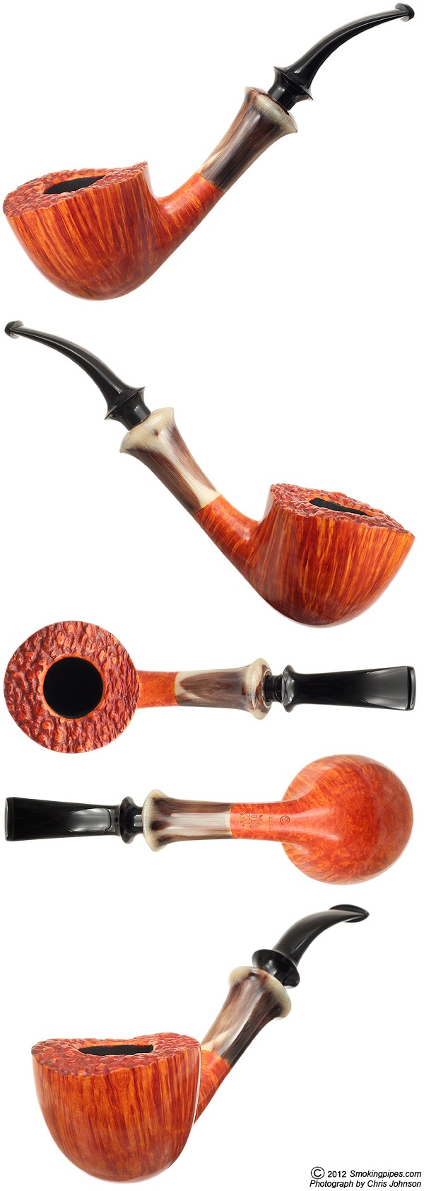 Ikebana Smooth Bent Dublin with Horn (F)    http://www.smokingpipes.com/pipes/new/tsuge/moreinfo.cfm?product_id=97691