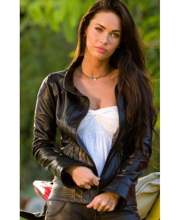 Transformers 2: Megan Fox (Mikaela Banes) Black Jacket