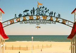 Ocean City, Maryland. Where my husband spent his summers as a kid. We love this place.