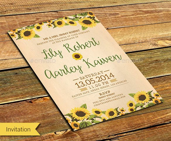 Cheap Sunflower Wedding Invitations: Best 25+ Free Invitation Templates Ideas On Pinterest