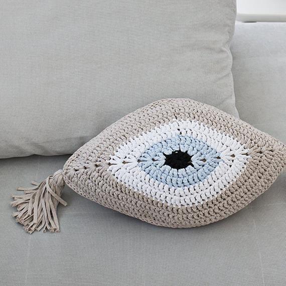 eye pillows crochet pillow pattern