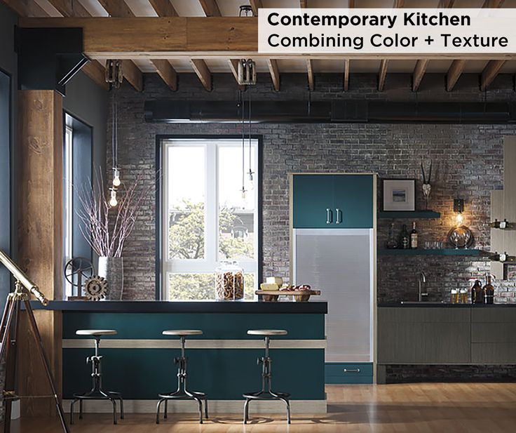 Country Kitchen With Maple Shaker Cabinets And Terra Cotta: 72 Best Contemporary Style Cabinets Images On Pinterest