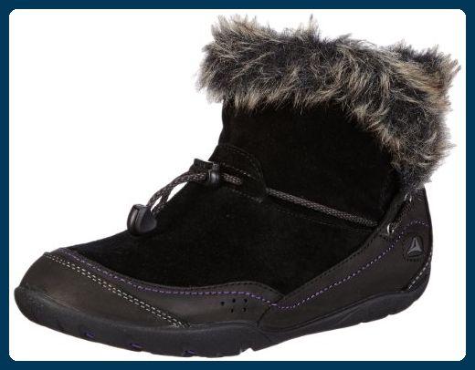 Clarks Idly Bootie 20356415, Damen Schneestiefel, Schwarz (Black Sde), EU 38 - Stiefel für frauen (*Partner-Link)