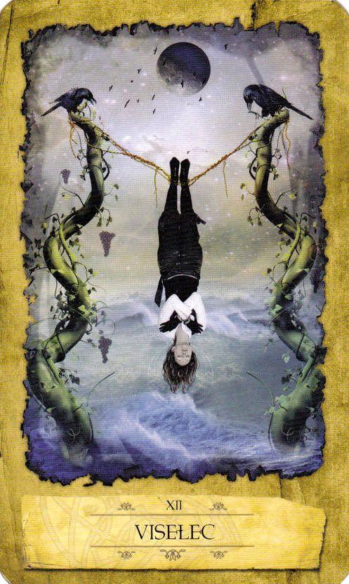 The Hanged Man - Mystic Dreamer Tarot