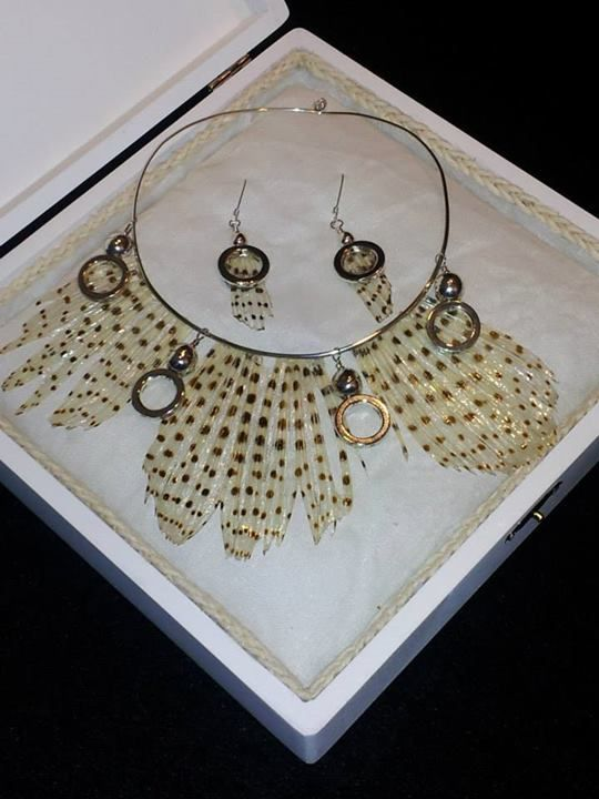 Lionfish Necklace and Earrings by Maria Andreu Hickerson