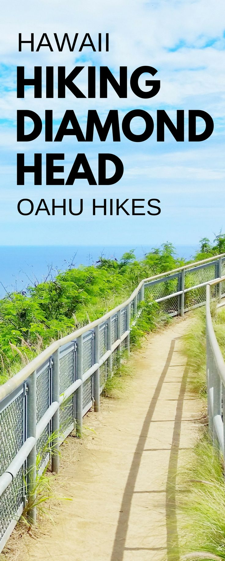 Best Oahu hikes with best views: Diamond Head Hike! For US hiking trails in Hawaii, tons of hikes on Oahu to choose on Hawaii vacation! Doing best hiking trails on Oahu gives things to do with nearby beaches for swimming, snorkeling, and to see turtles! Planning tips for this crater hike trail summit near Waikiki and Honolulu with what to wear hiking in Hawaii and what to pack and add to Hawaii packing list. Outdoor travel destinations for bucket list and budget adventures... #hawaii #oahu
