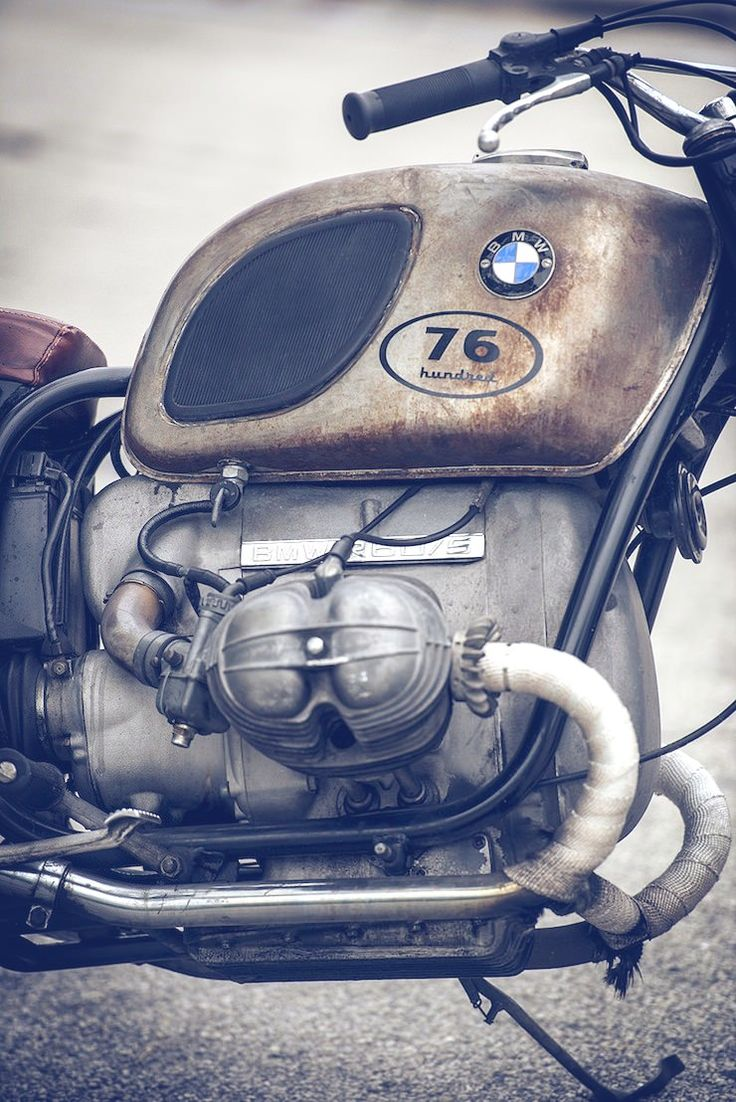 1971 BMW R60/5 – La Curiosa, from 76hundred Custom Vintage Motorcycles. Find more #BMWs at www.carsquare.com #auto #Euro #German