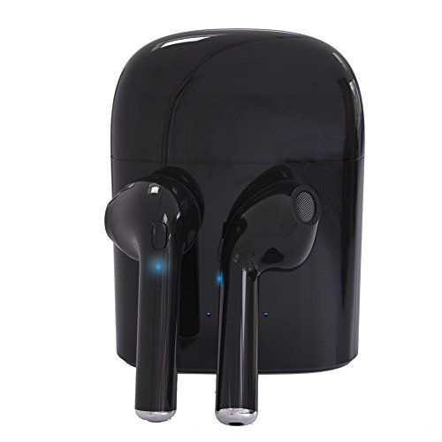 Bluetooth Earbuds Mini Twins TWS Wireless Headset In-Ear Headphone Earphone Earpiece with Charging Case For AirPods iPhone 8/8 plus/X/7/7 plus/6/6s Android All Bluetooth devices