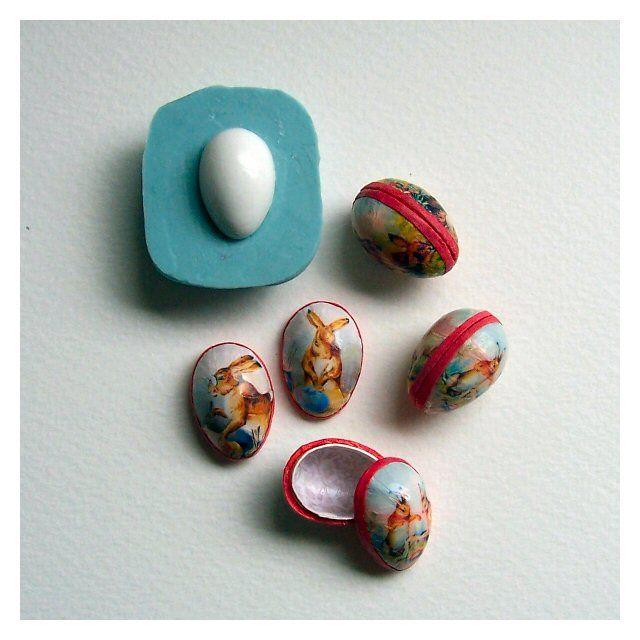 Miniature Easter Egg tutorial !