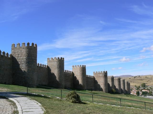 Avila is one of Madrid's most underrated day trips: Just a few of Avila's 88 turrets
