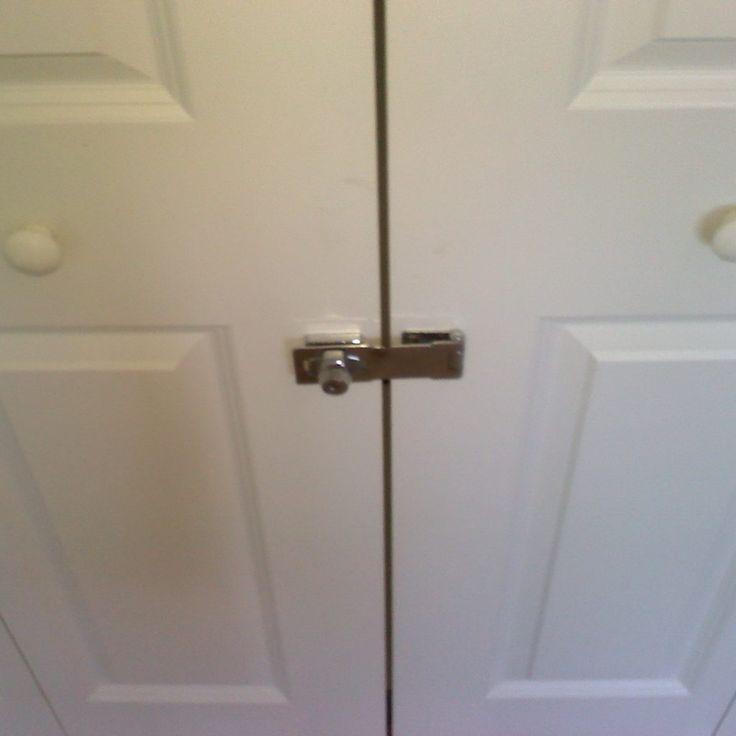 Sliding Closet Door Locks With Key
