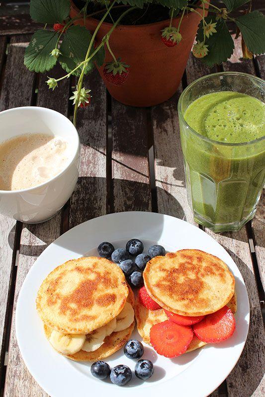 leckere #Protein #Pfannkuchen zum Fr