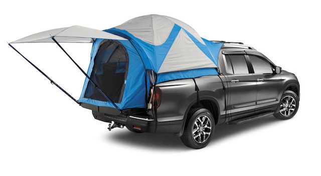 Ready for adventure? Check out this Honda Ridgeline bed tent: 08Z04-T6Z-100A