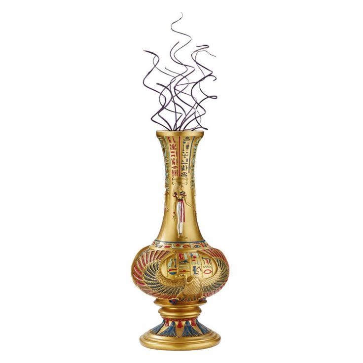 Design Toscano 13H in. Vulture God Nekhebet Egyptian Sculptural Vase - QL76265
