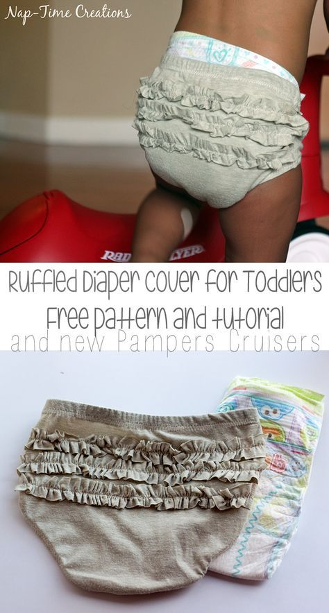 Toddler Diaper Cover Free Pattern And Tutorial (with template)