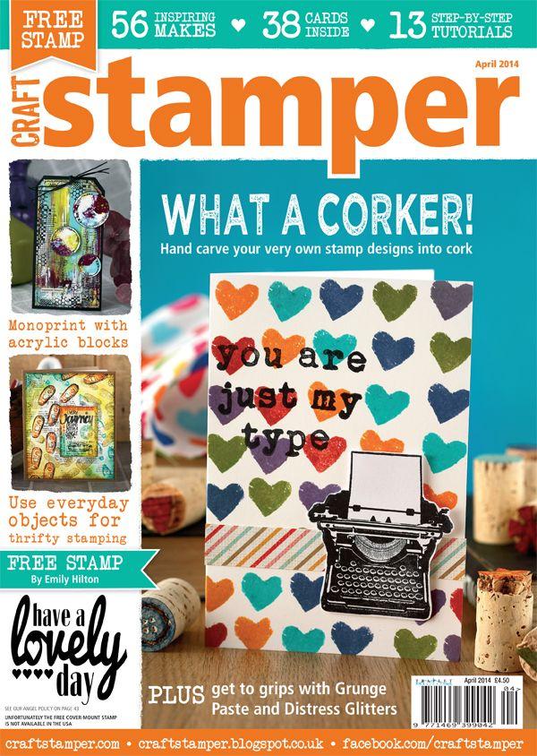 Craft Stamper April 2014 issue