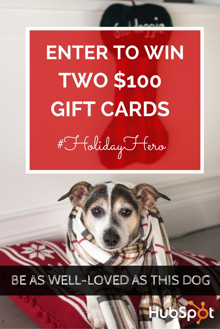 Be Your Office's #holidayhero! Enter To Win Two $100 Gift Cards One