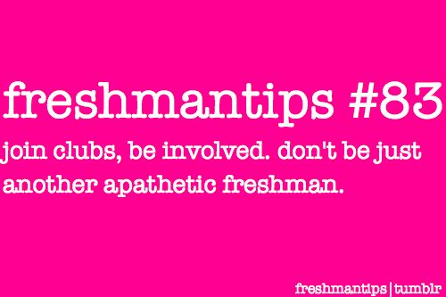 Great advice for #freshman year at #Furman.