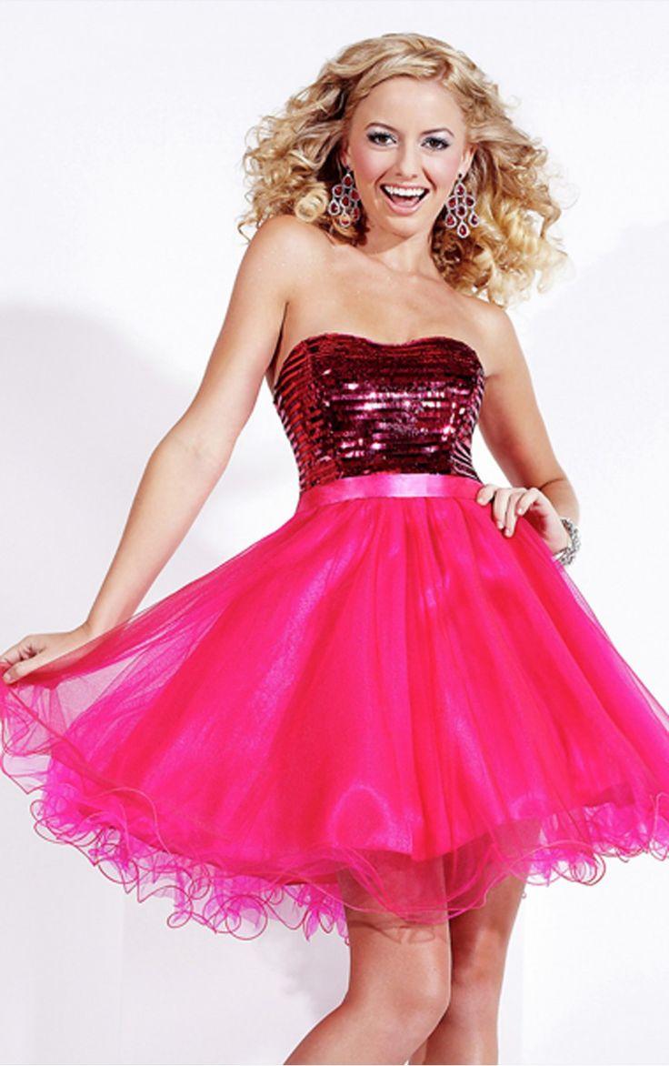 Encantador Short Ball Gown Prom Dresses Molde - Colección de ...