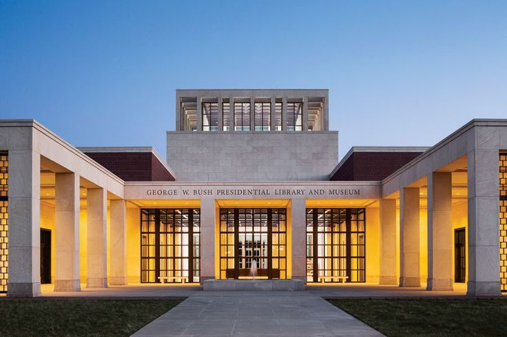 The George W. Bush Library Designed by Robert A.M. Stern