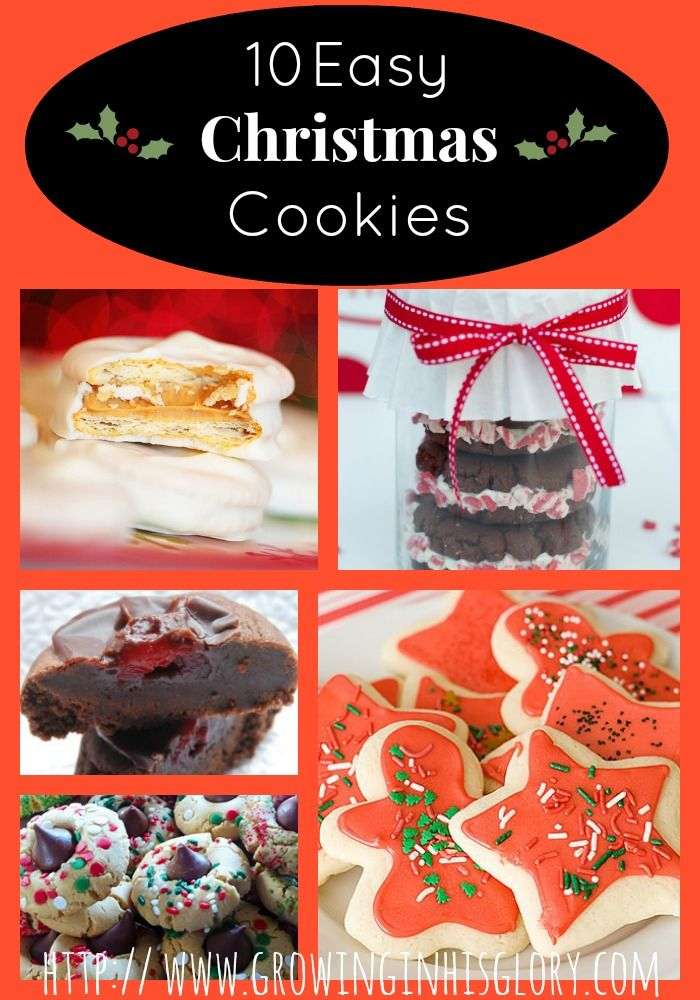 42 best images about christmas cookies on pinterest for Simple christmas cookie and candy recipes