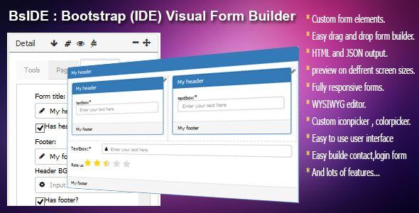 BsIDE Bootstrap Form Builder - http://codeholder.net/item/javascript/bside-bootstrap-form-builder