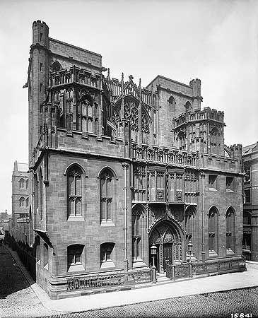 John Rylands Library, Deansgate, Manchester, 1900