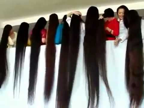 """Amazing Long Hair Show - Girls With Longest Hair In the World"""