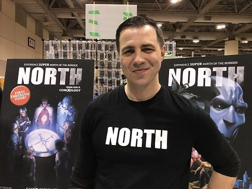 At Toronto Comicon 2018, Scott Sawyer talked about his book called North, his comic book influences, how Andrew Thomas of Auric of the Great White North helped with the project, where readers can get the book, plus plans for the future.