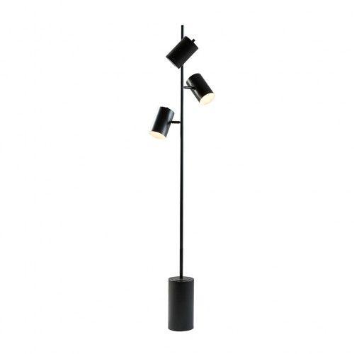 Black Metal 3 Pendant Floor Lamp In 2020 Tree Floor Lamp Floor