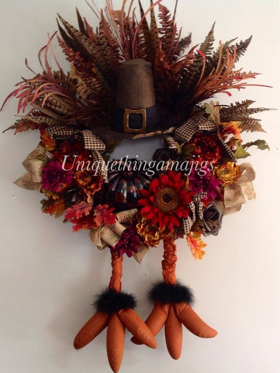 payment plan available pre order 2015 by uniquethingamajigs turkey wreathwreath fallthanksgiving wreathsthanksgiving