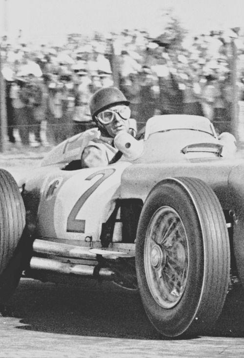 Juan Manuel Fangio Argentina 1955