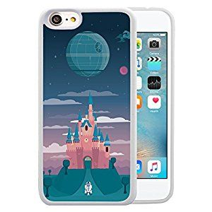 """Amazon.com: Star Wars iPhone 7 4.7"""" Case, Onelee Star Wars, Han Solo, Death Star, Darth Vader White TPU and PC Case for iPhone 7 4.7"""" [Scratch proof] [Drop Protection]: Cell Phones & Accessories"""
