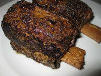 Blog Pepato.eu: Hovězí žebra pečená přes noc, marinovaná v hrubozrnné hořčici – a ráno je oběd hotov!